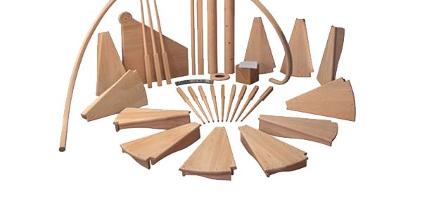 Балясины из дерева в Краснодаре и Майкопе - компания Дом