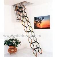Чердачная лестница A&F «Ножничная LUX»