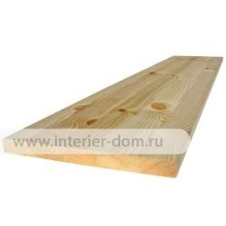 Мебельный щит из сосны без сучка (18 мм) сращенный