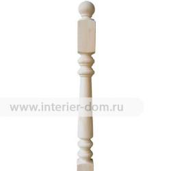 Столб заходный из сосны без сучка №3 (90*90*1200 мм)