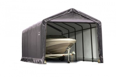 Гараж/Ангар 3,7х7,6х3,4м, индустриальная серия, ShelterLogic