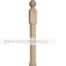 Столб заходный из бука без сучка 100-Рим (100*100*1200 мм)