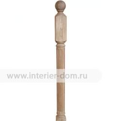 Столб заходный из бука без сучка 80-Рим (80*80*1200 мм)