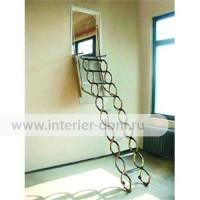 Чердачная лестница A&F «Ножничная Verticale»