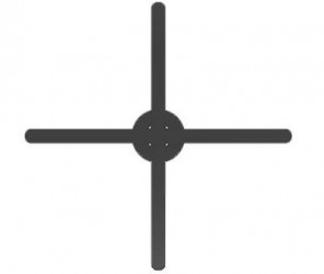 Крестик- табулятор для плитки 4мм