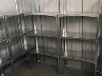 Полки для металлических и пластиковых сараев.
