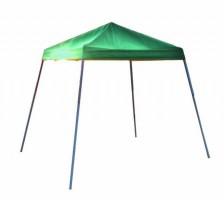 Шатер раскладной 2,4х2,4м Shelterlogic, наклонные ноги, зеленый тент, сумка-переноска в комплекте