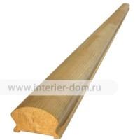 Поручень из сосны без сучка (48*65 мм) сращенный