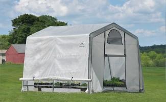 Теплица-в-Коробке 1,8x2,4x2м ShelterLogic, светорассеивающий тент