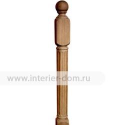 Столб заходный из термодуба без сучка 100-Рим (100*100*1200 мм)