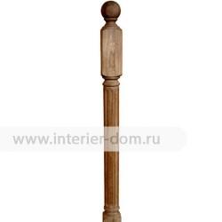 Столб заходный из термодуба без сучка 80-Рим (80*80*1200 мм)