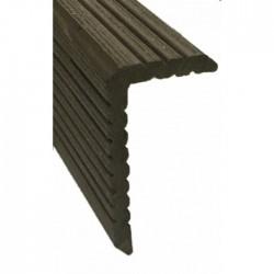 Уголок ДПК для террасной доски Darvolex, Ecodeck, Deckron (брашинг)
