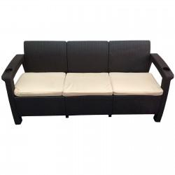 Трёхместный диван  Yalta Sofa 3 Seat