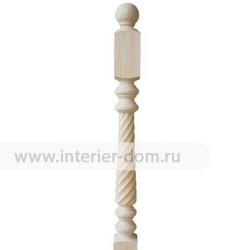 Столб заходный из сосны без сучка №5 (90*90*1200 мм)