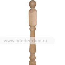 Столб заходный из дуба без сучка 100-Лебедь (100*100*1200 мм)