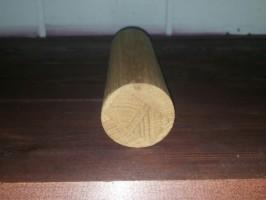Поручень из дуба без сучка круглый (Ø 50 мм) стык